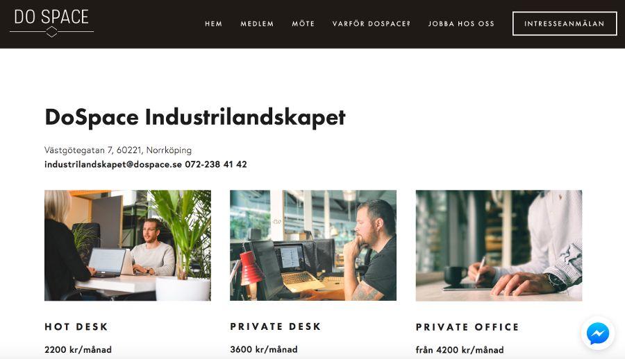 DoSpace Industrilandskapet