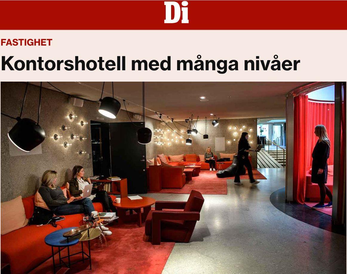 kontorshotell centrala Stockholm