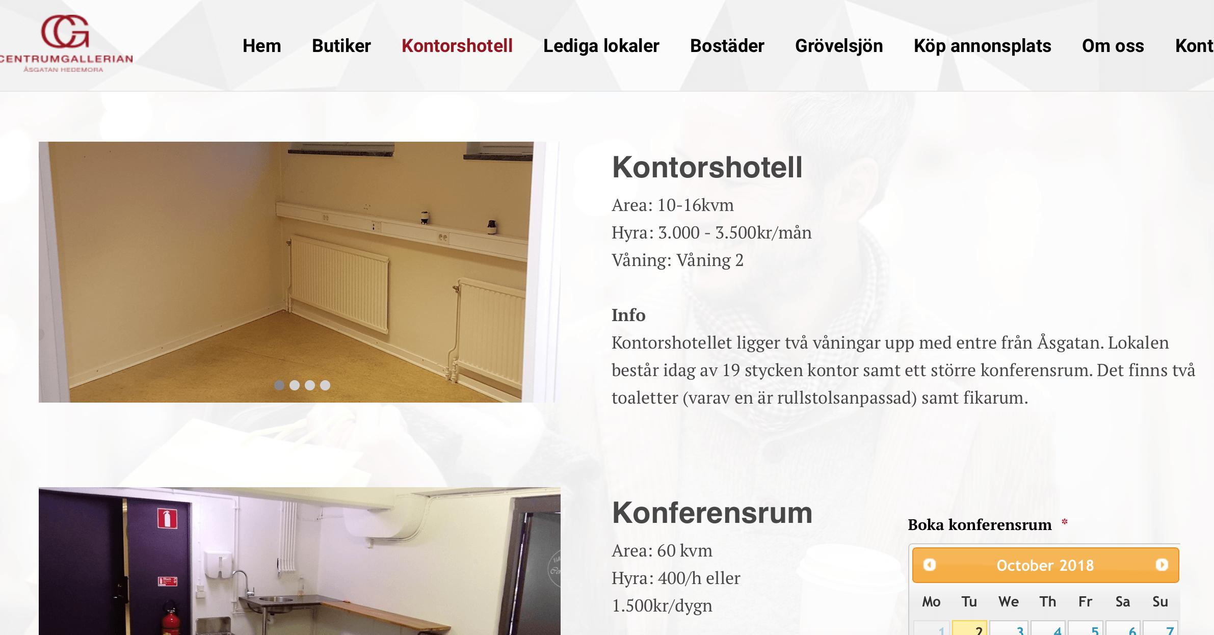 Kontorshotell Falun