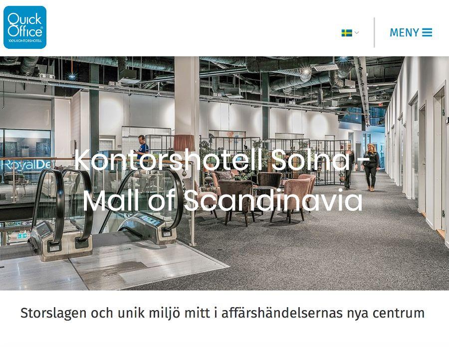 Quick Office Mall of Scandinavia