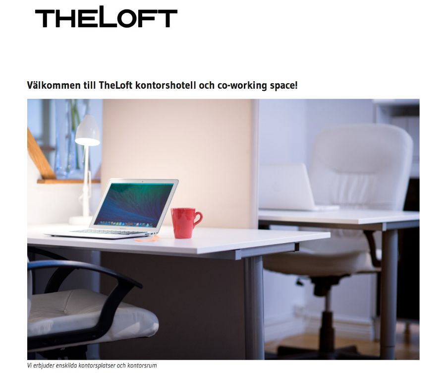 TheLoft kontorshotell AB