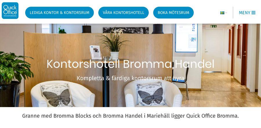 Quick Office Bromma Handel