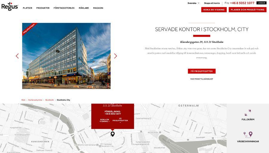 Regus Stockholm City